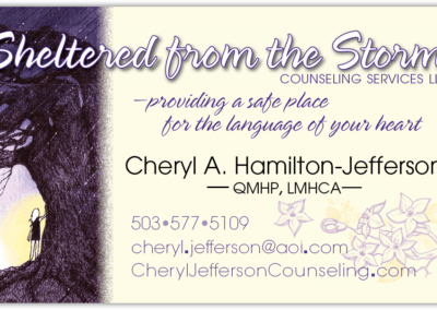1-Sided Business Card-A